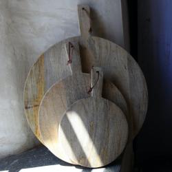 Pizza board, 43 x 32cm, Mango Wood