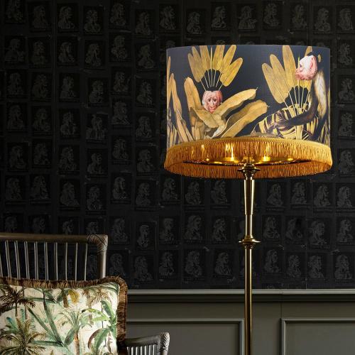 Monkey Pendant Lamp, H28 x Dia45cm
