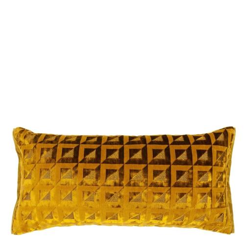 Monserrate Cushion, H30 x W50cm, Ochre