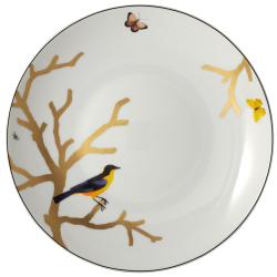 Aux Oiseaux Deep round dish