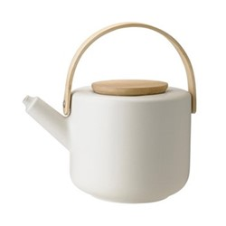 Theo by Francis Cayouette Teapot, H16cm - 1.25 litre, sand