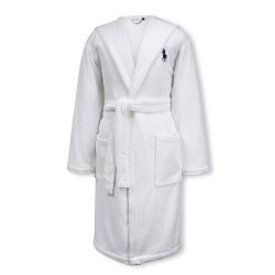 Player Bath robe, small/medium, white