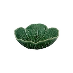 Cabbage Set of 4 bowls, 12 x 4.5cm, green