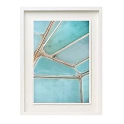 Salts III by Tommy Clarke Framed fine art photographic print, H57 x W43 x D3.3cm, white frame