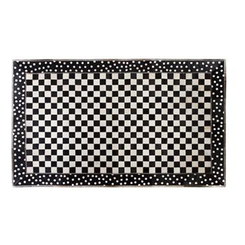 Mod Rocker Rug, W152.4 x L91.44cm, black & white