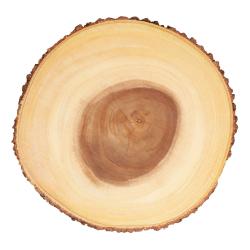 Large rustic serving board, D35 x H2cm, Wood