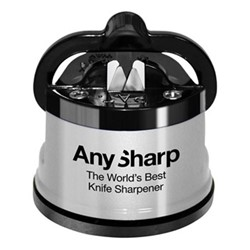 Any Sharp Knife sharpener, 6.2cm, silver