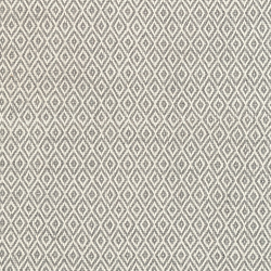 Crystal Recycled polyester P.E.T. indoor/outdoor rug, W76 x L244cm, Grey/Ivory