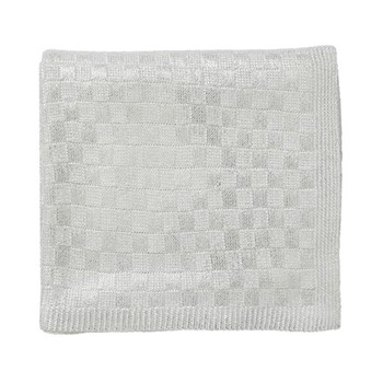 Saryn Throw, L150 x W130cm, white