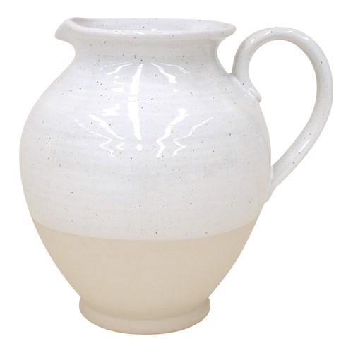 Fattoria Large pitcher, 5 litre, White