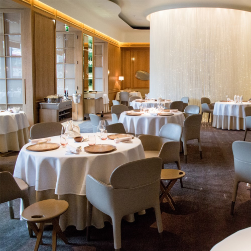 Private dining experience for two at Three-Michelin star Alain Ducasse at the Dorchester