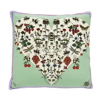 Bumble Bee Love Cushion, L45 x W45cm, multi