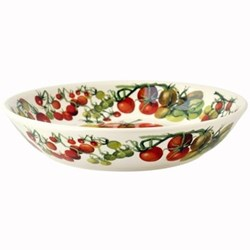 Vegetable Garden Pasta bowl, 23.4cm, tomatoes