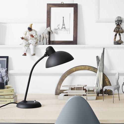 Kaiser Idell-6556-T Table lamp, H43 x Dia21cm, Matt Black