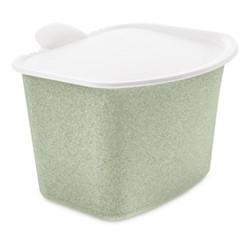 Bibo Food waste bin, H16 x W20.8 x L22.5cm, organic green