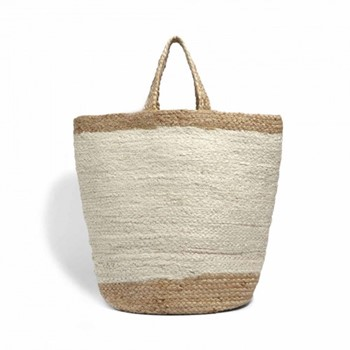 Ampney Extra large storage bag, 40 x 45cm, jute