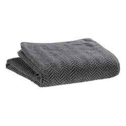 Roberto Maxi bath towel, 100 x 180cm, slate