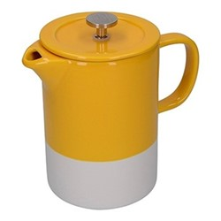 Barcelona Cafetiere, 8 cup - 850ml, mustard