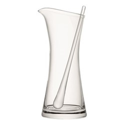 Bar Cocktail jug and stirrer, 1.2 litre, clear