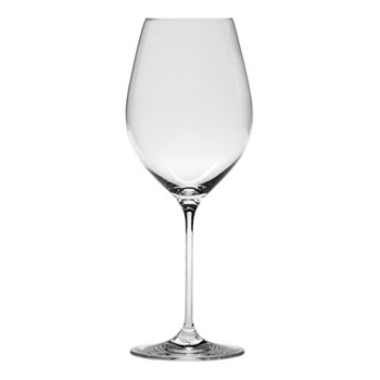 Eventi Set of 6 red wine glasses, 66cl, clear