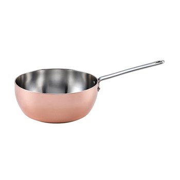Maitre D' Induction sauteuse, D20cm, copper and stainless steel