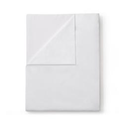 Soft & Smooth Luxury - 600 TC Super king size flat sheet, W305 x L275cm, White