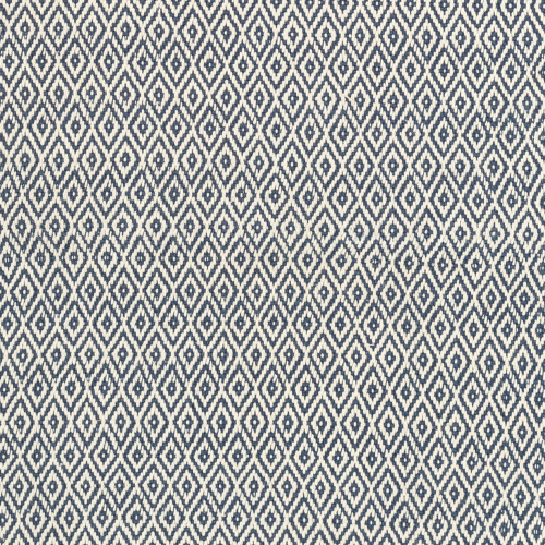Crystal Recycled polyester P.E.T. indoor/outdoor rug, W244 x L305cm, Navy/Ivory