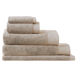 Retreat Natural Bath towel, 69 x 137cm, Natural Turkish Cotton