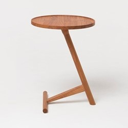 Calvo by Lee Kirkbride Side table, W42 x D42 x H58cm, cherry