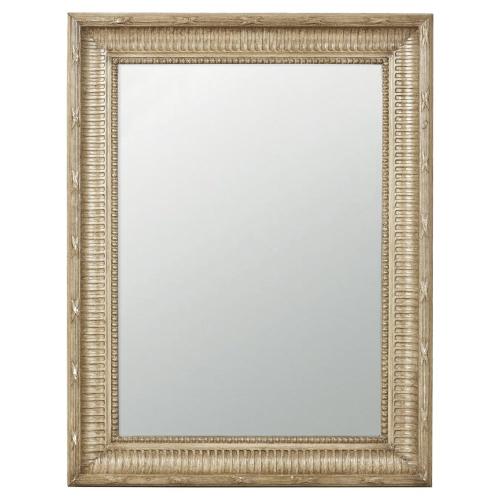 Kinvara Distressed wall mirror, W68 x H89cm