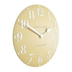 Arabic Large wall clock, 51cm, honey resin