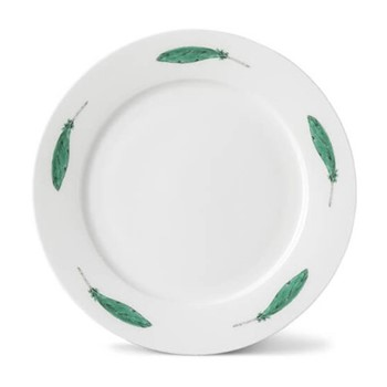 Parakeet Side plate, 21cm, feather