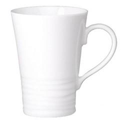 Onde White Set of 4 mugs, 30cl