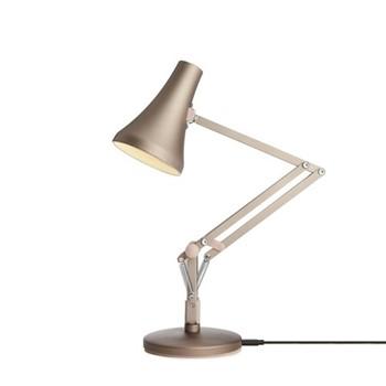 90 Mini Mini Desk lamp, warm silver & blush