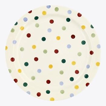 Polka Dot Serving plate, 33.5cm
