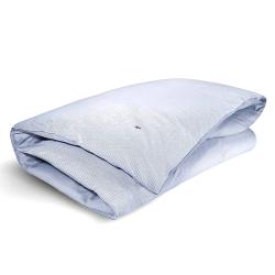 Oxford - 200 Thread Count Cotton King duvet cover, W220 x L230cm, Blue