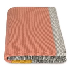 Digby Knitted bed throw, H150 x W200cm, multi