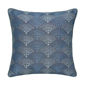 Sanremo Cushion, L40 x W40 x H10cm, blue