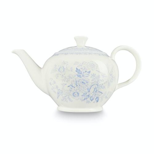 Asiatic Pheasants Teapot large, 7 cup, Blue