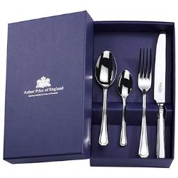 Grecian 24 piece cutlery set, stainless steel