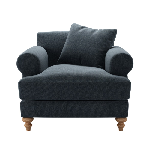 Teddy Armchair, H88 x W96 x D115cm, Rockpool