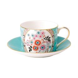 Wonderlust - Camellia Teacup and saucer, 15cl