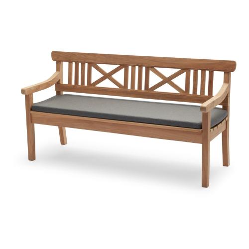 Drachmann Cushion, L166 x W51 x H5cm, Charcoal