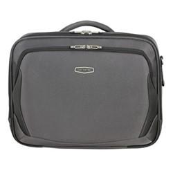 X'Blade 4.0 Laptop shoulder bag, 38 x 45 x 16cm, grey/black
