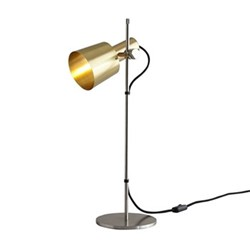 Chester Table light, H57 x W17cm, satin brass