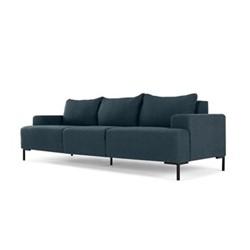 MADE Essentials - Oskar 3 seater sofa, H79 x W234 x D85cm, aegean blue