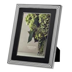 "Vera Wang - With Love Noir Photograph frame, 8 x 10"", Silver Plate"