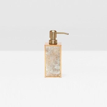 Atwater Soap pump, H18 x W6.5cm, gold