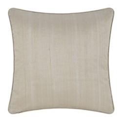 Silk cushion, 45 x 45cm, ivory