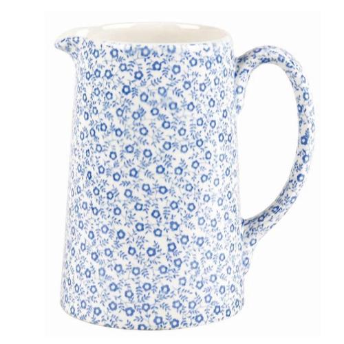 Felicity Tankard jug medium, 56.8cl - 1pt, pale blue